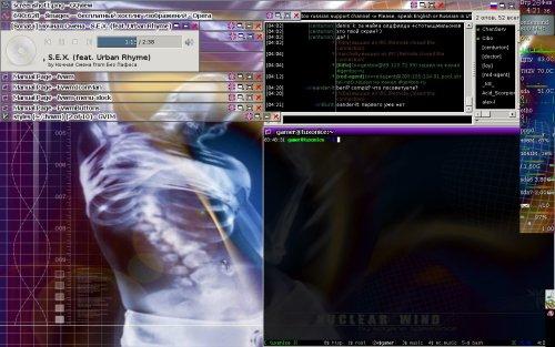 Gentoo + Fvwm + /dev/hands