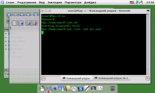 n810 + Debian