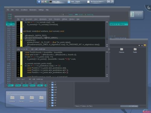 KDE 4.1.1 плюс Compiz Fusion