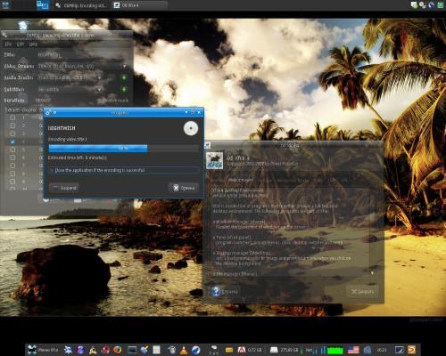 Новый Xfce 4.6 ALPHA