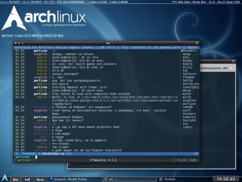 openbox в archlinux'e