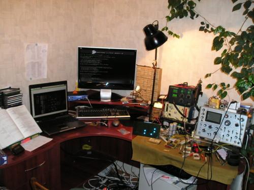 Моя домашняя мастерская :)