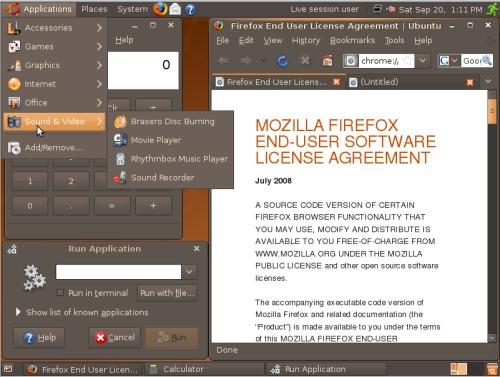 Ubuntu 8.10 NewHuman